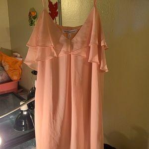 BCBGeneration  coral pink dress